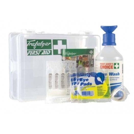 Brady First Aid Emergency Eye Wash Station - Clear Plastic 250Mm W X 200Mm H X