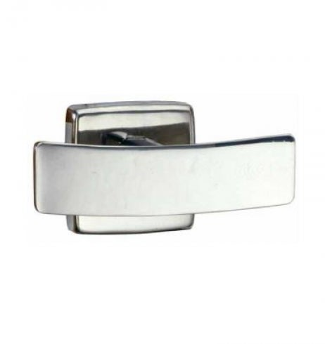 [Preorder] Bobrick Classic Robe Hook B6727 Double - Silver 60Mm Projection