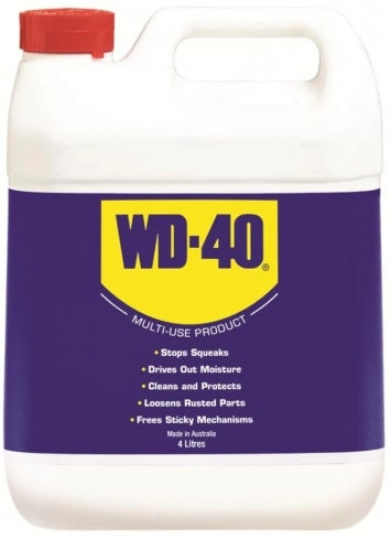 Wd-40 Bulk Penetrant Or Lubricant - Clear 4L Bottle