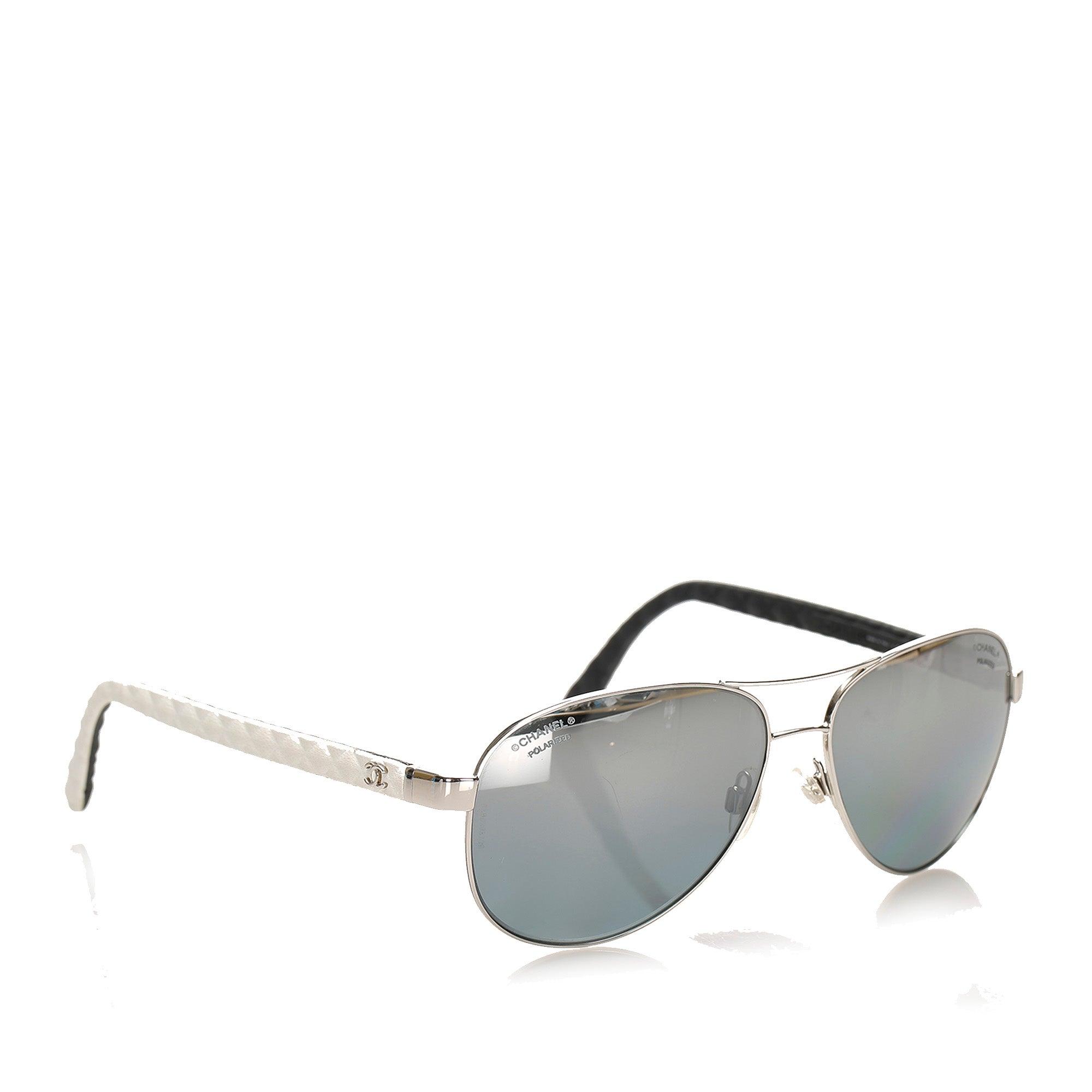 Chanel Aviator Tinted Sunglasses