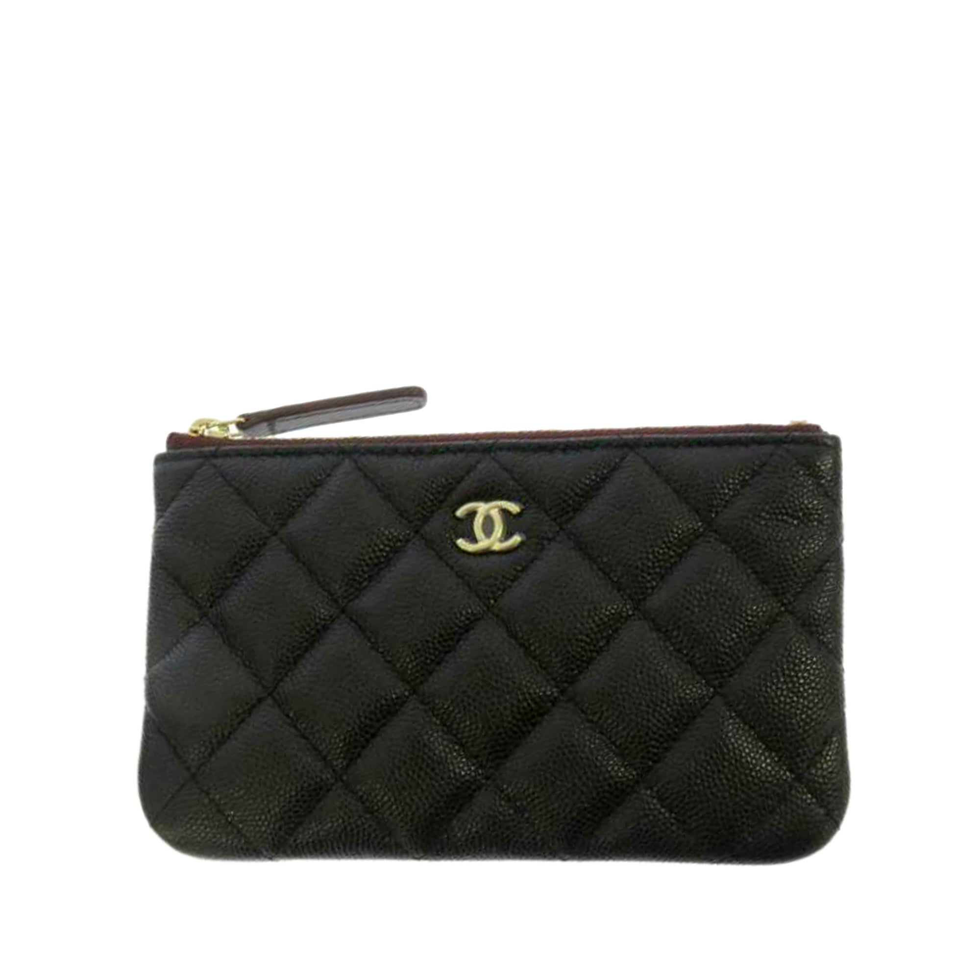 Chanel Matelasse Caviar Leather Coin Pouch