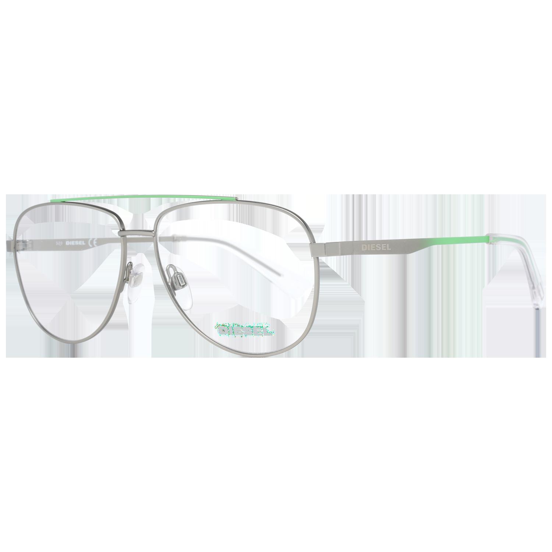 Diesel Optical Frame DL5376 012 56 Men Gunmetal