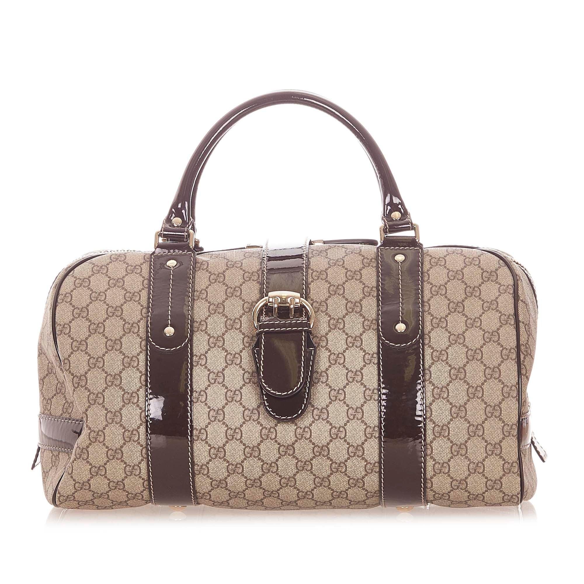 Gucci GG Supreme Boston Bag