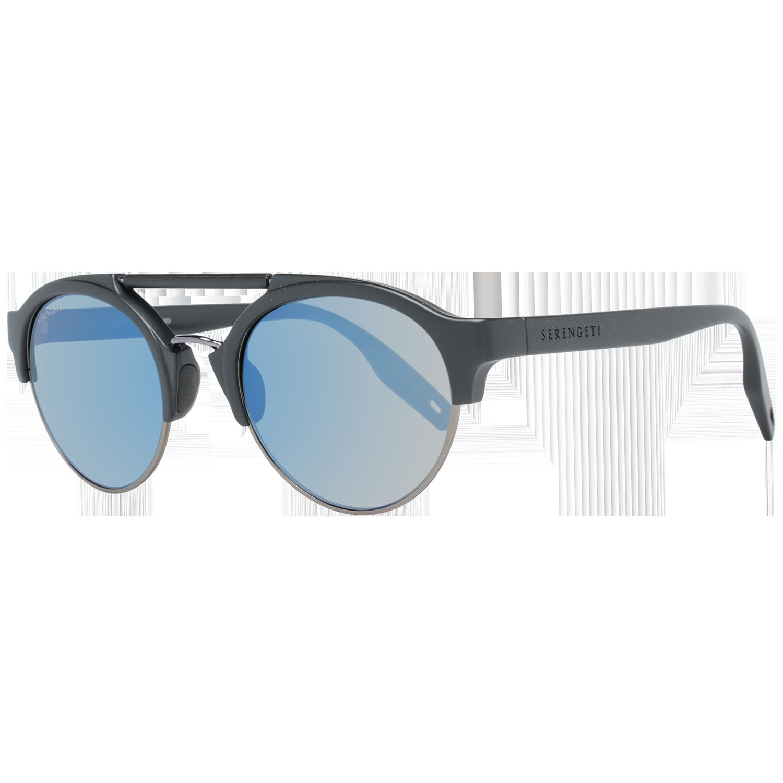 Serengeti Sunglasses 8560 Savio 50 Matte Black Men Black