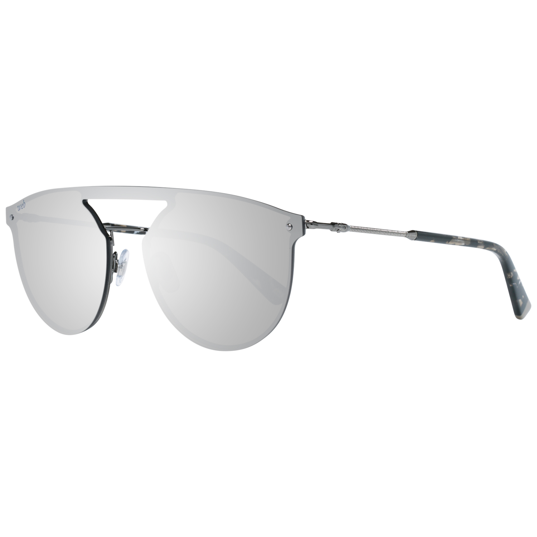 Web Sunglasses WE0193 08C 138 Unisex Gunmetal