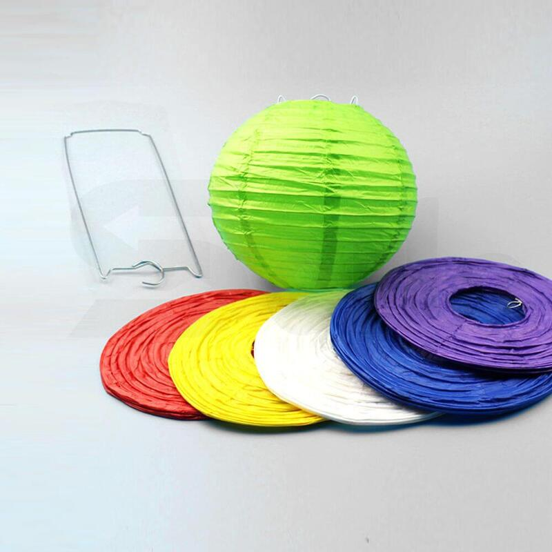 """12"""" Paper Lanterns for Wedding Party Festival Decoration - Mix and Match Colours"""