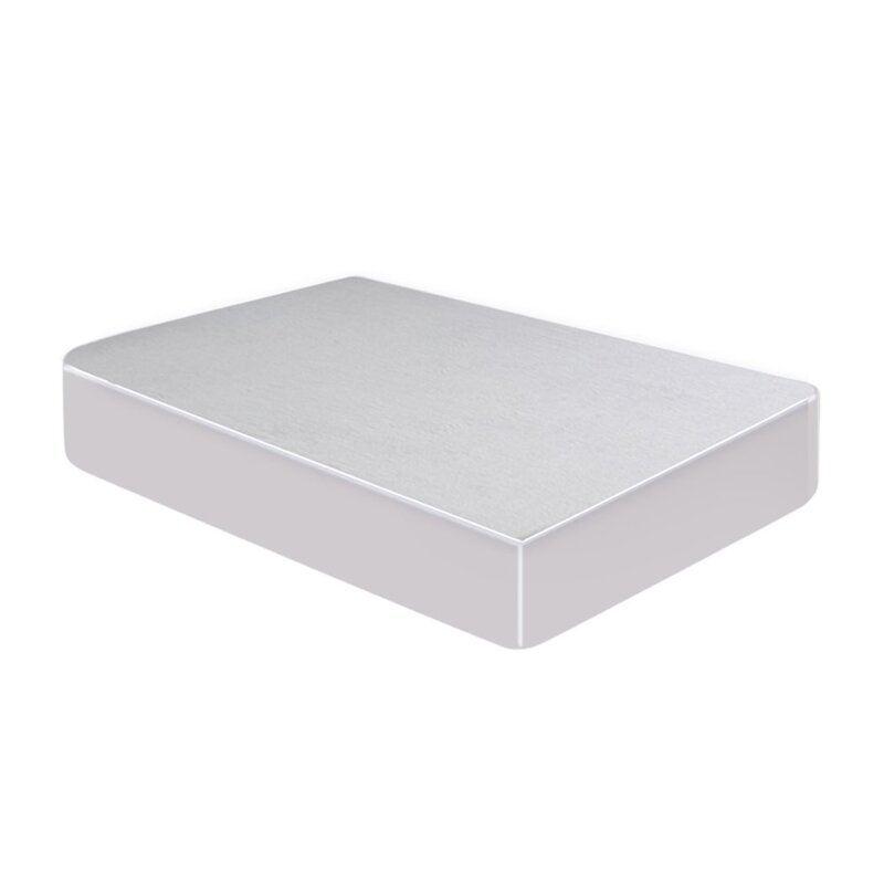 DreamZ King 183x203x35cm 100% Cotton Stripe Waterproof Mattress Protector