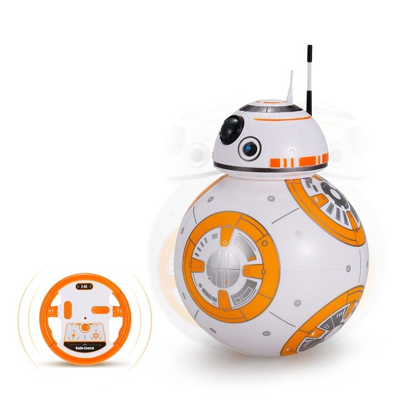 2.4GHz RC Robot Ball Remote Control Planet Boy with Sound Toy Kids Gift