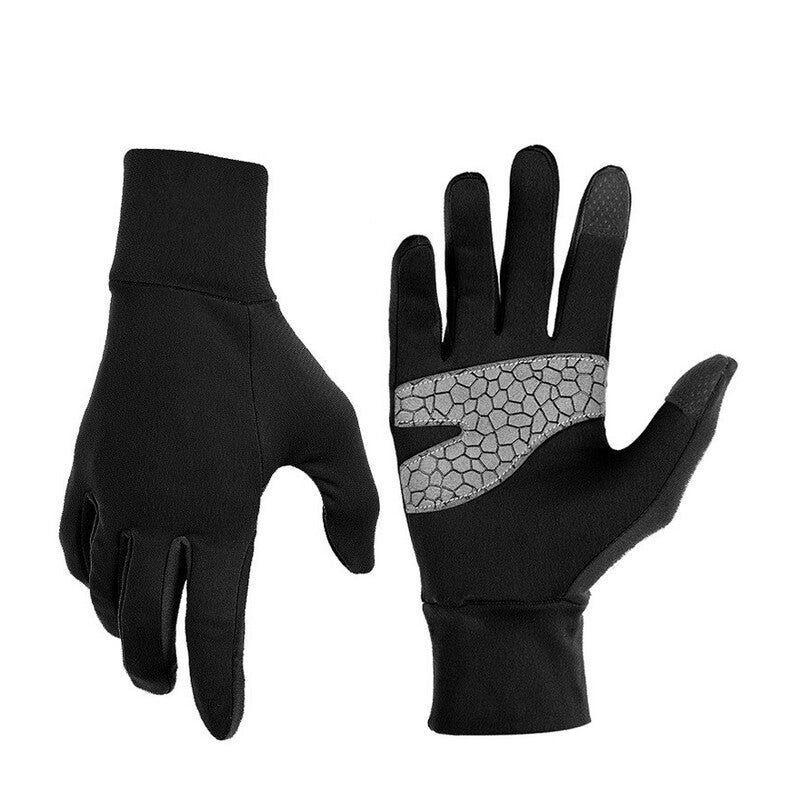 Outdoor Light Thermal Touch Gloves,Winter Cycling Mountaineering and Driving Anti-slip Touch screen Breathable Warm Gloves