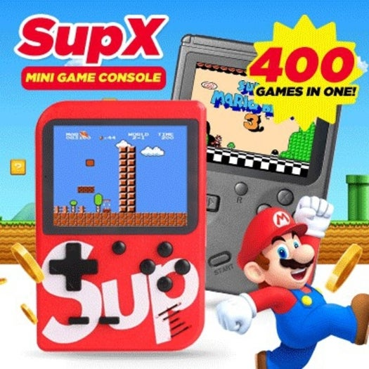 Handheld Game Console Built-in 400 Classic Games