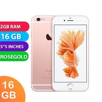 Apple iPhone 6s+ Plus (16GB, Rose Gold) - Grade (Excellent)