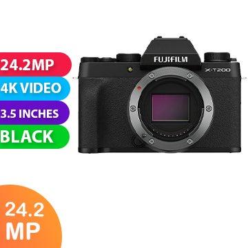 Fujifilm X-T200 Body Black - FREE DELIVERY