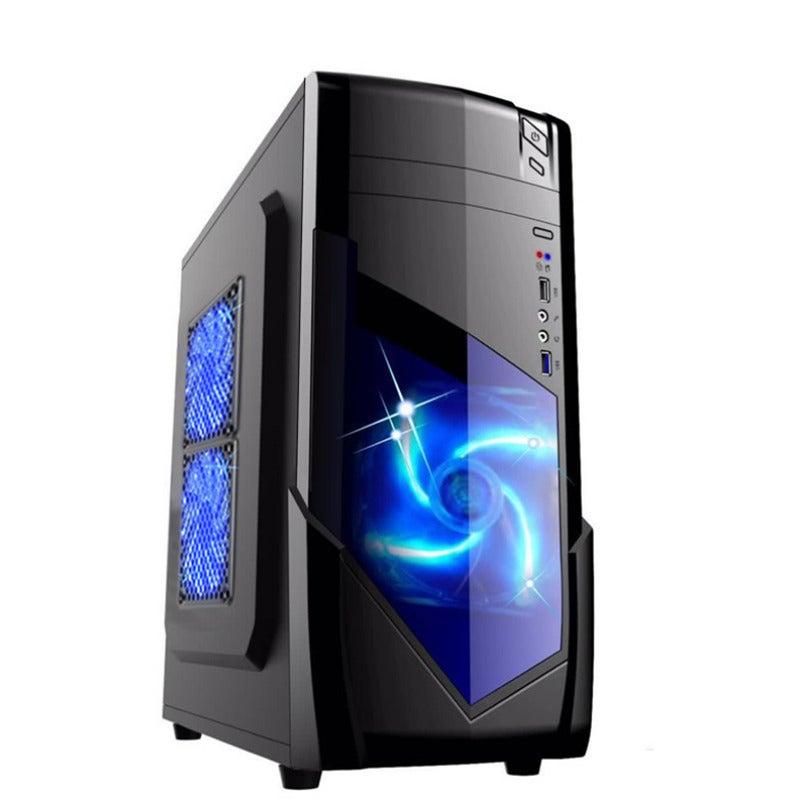 1728 ATX M-ATX SPCC Computer Case USB3.0 400 * 175 * 410mm Desktop Chassis Power Unit Crust