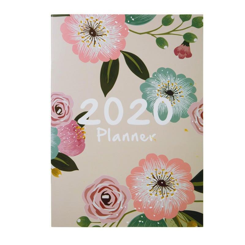 2020 Notebook Planner Organizer A4 Notepad Monthly Agenda DIY Magazines