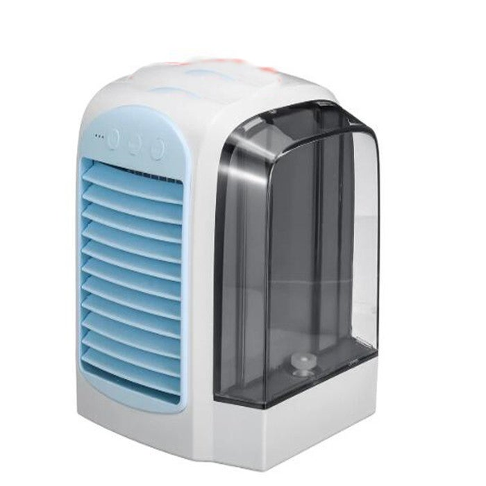 DC5V 380ml Air Conditioner Fan Mini Cool Bedroom Desk Portable Cooler Cube Water USB Silent