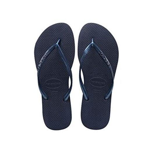 Havaianas Slim Navy Blue Flip Flops UK 8