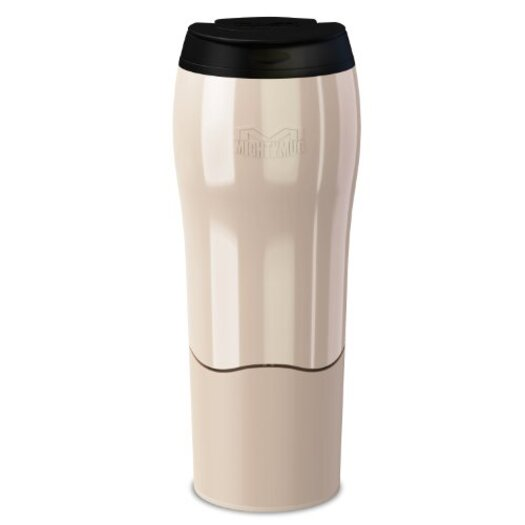 Mighty Mug Go - The Travel Mug That Won't Fall Over (0.47 Litre), Pearl
