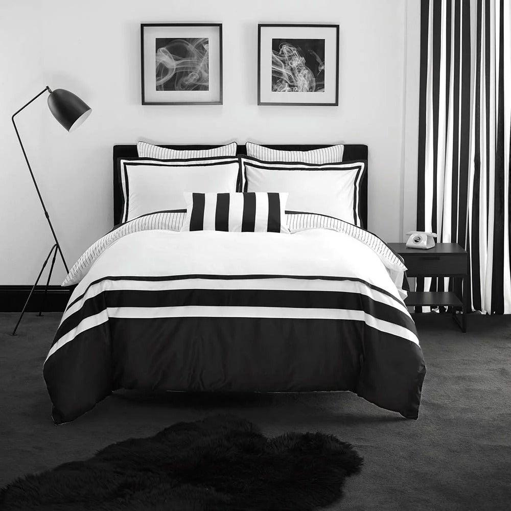 Linen House 500TC Anjelica King Quilt Cover Set