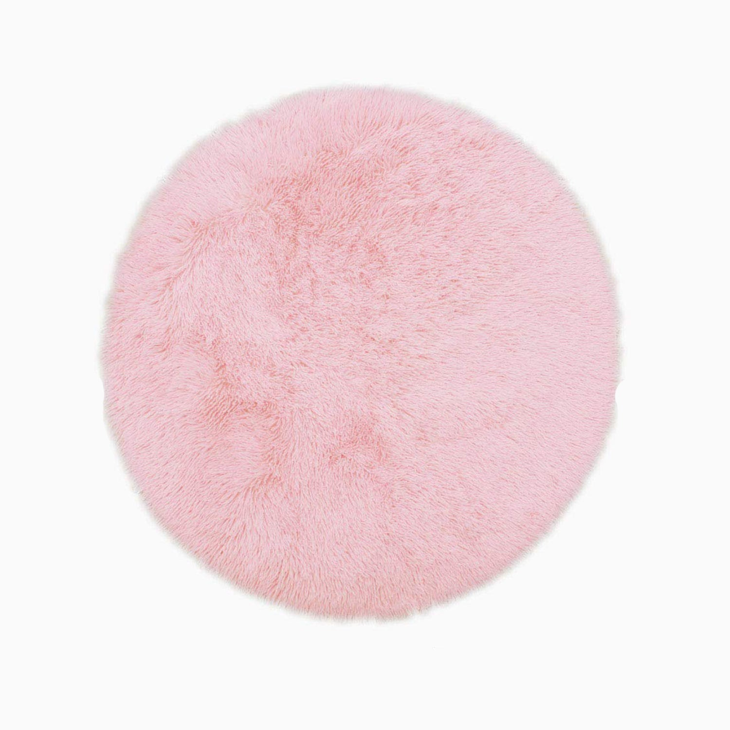 Lecluse Rugs Round Shaggy Floor Carpets Extra Large Lounge Couch Non Slip Area