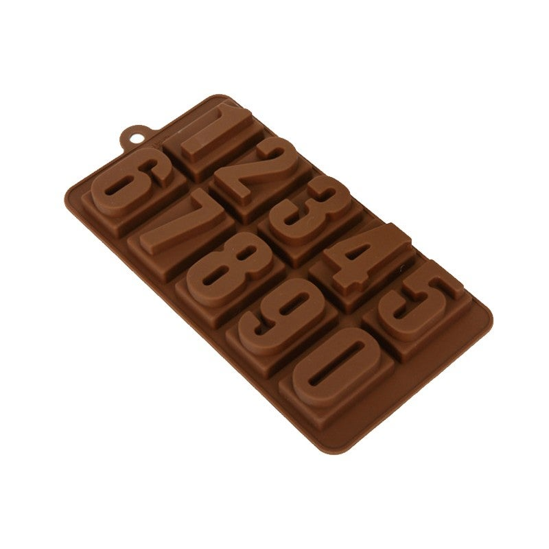 Christmas Gift Chocolate Cake ice Cube Cookie Silicone Mold Mould Decorating Bar