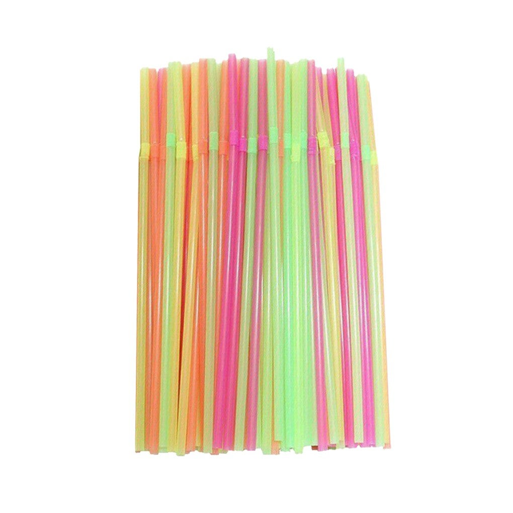 Plastic Party Straws 1000pcs