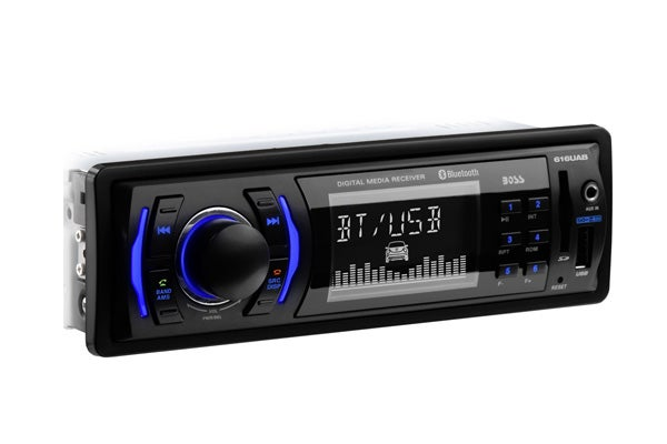Boss Audio 616UAB Bluetooth MP3 SD USB Mechless Receiver