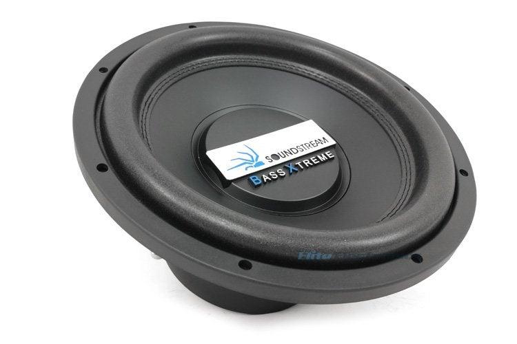 """Soundstream BXW-124 2400W 12"""" Subwoofer Dual 4 Ohm DVC Pro Car Audio"""