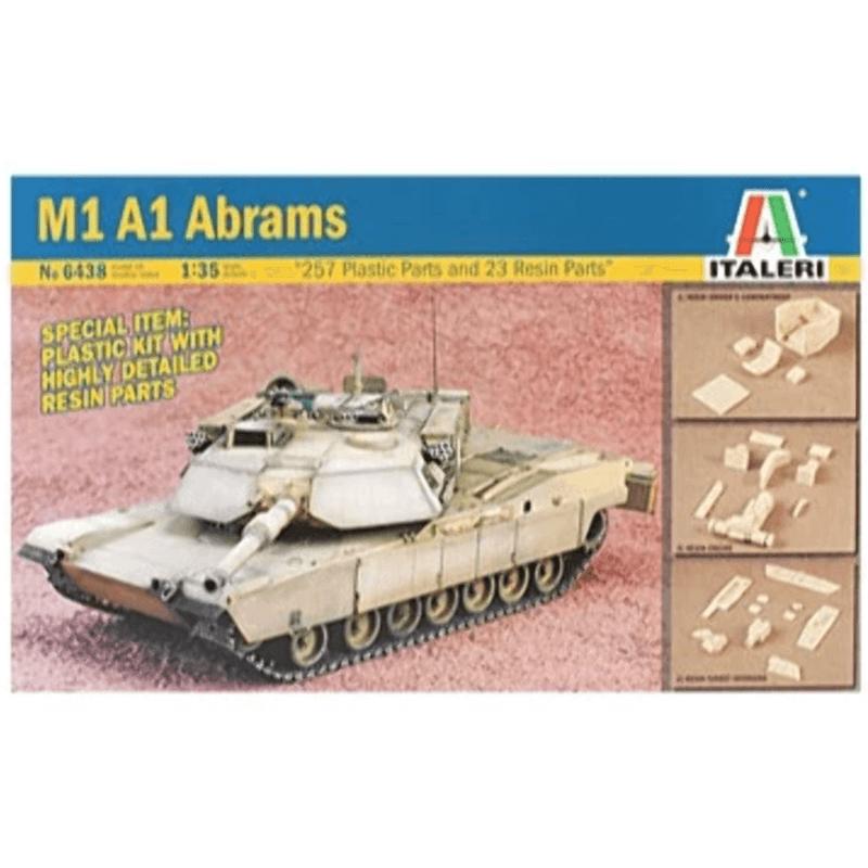 Italeri 1/35 M1 A1 Abrams Kit