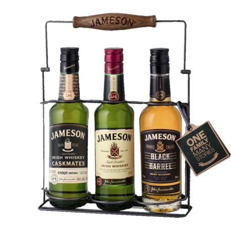 Jameson Family Wire Pack 3 X 200mL