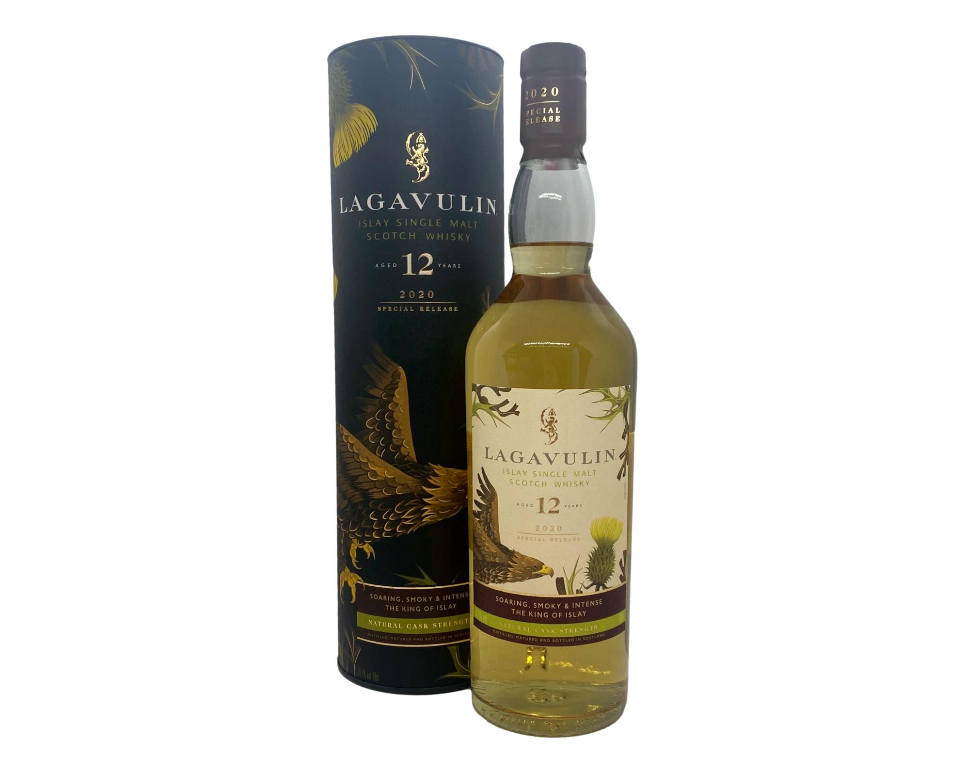 Lagavulin 12 Year Old (2020 Special Release) Natural Cask Strength 700ml @ 56.4% abv