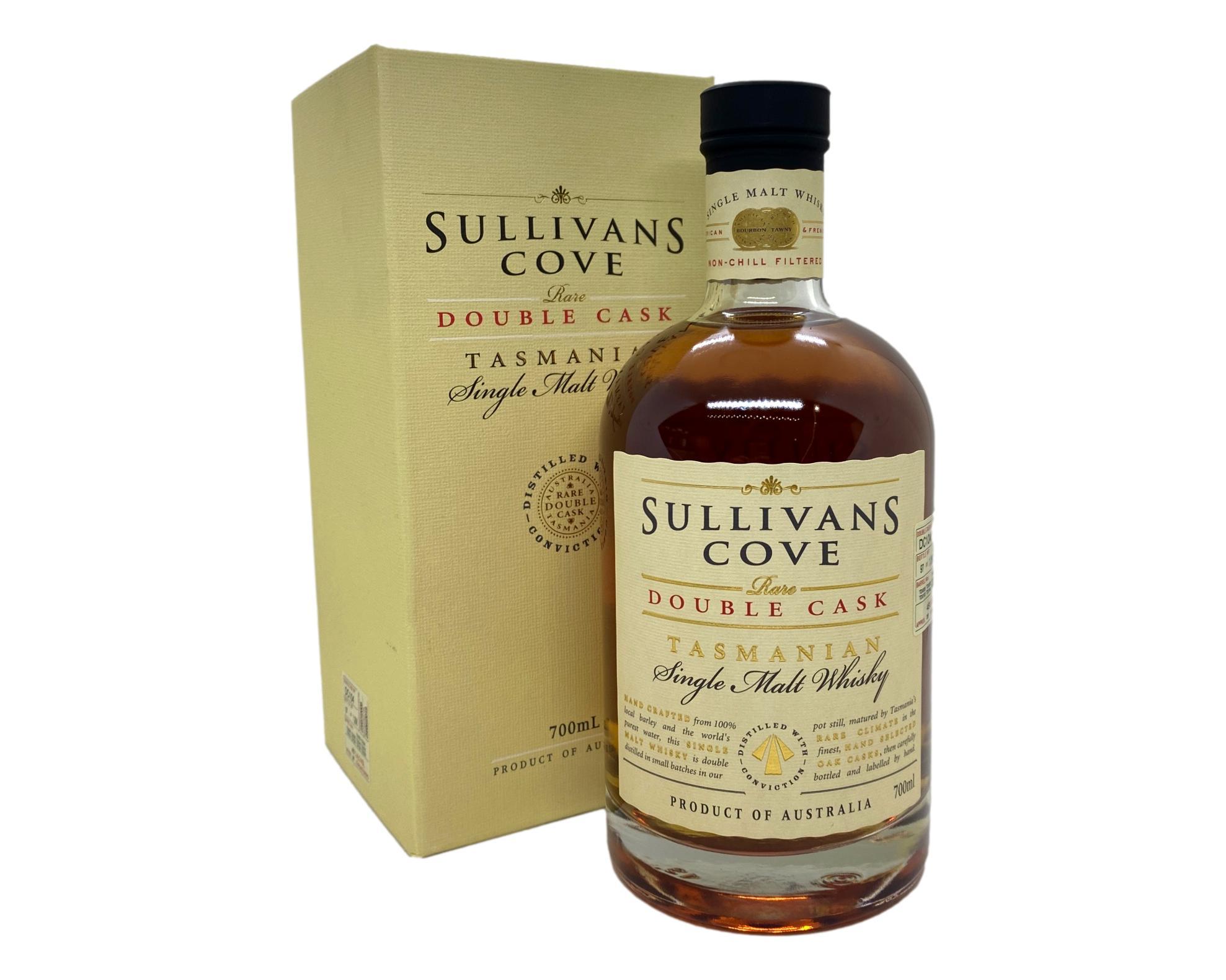 Sullivans Cove Double Cask Single Malt Whisky 700mL (Barrel No. DC104) @ 45% abv