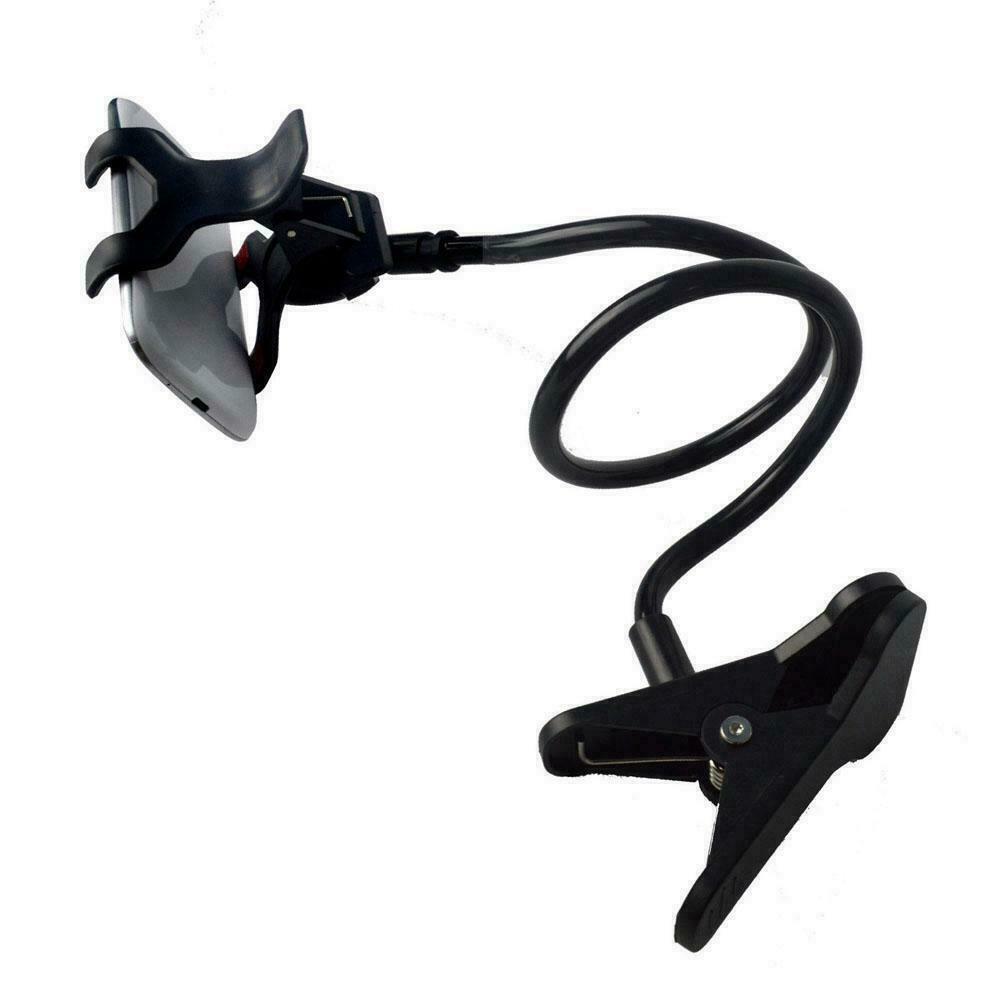 Ozoffer Mobile Phone Flexible 360?Clip Mount Stand Holder Bracket Clamp Desk Bed Office