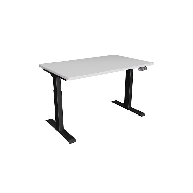 Snapp Black Frame Height Adjustable Desk- 1500mm X 750mm 10 Year Warranty