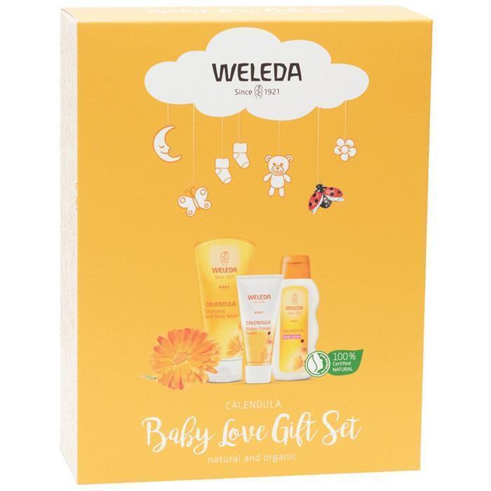 Weleda Baby Love Gift Set Calendula (3 x Full Size)