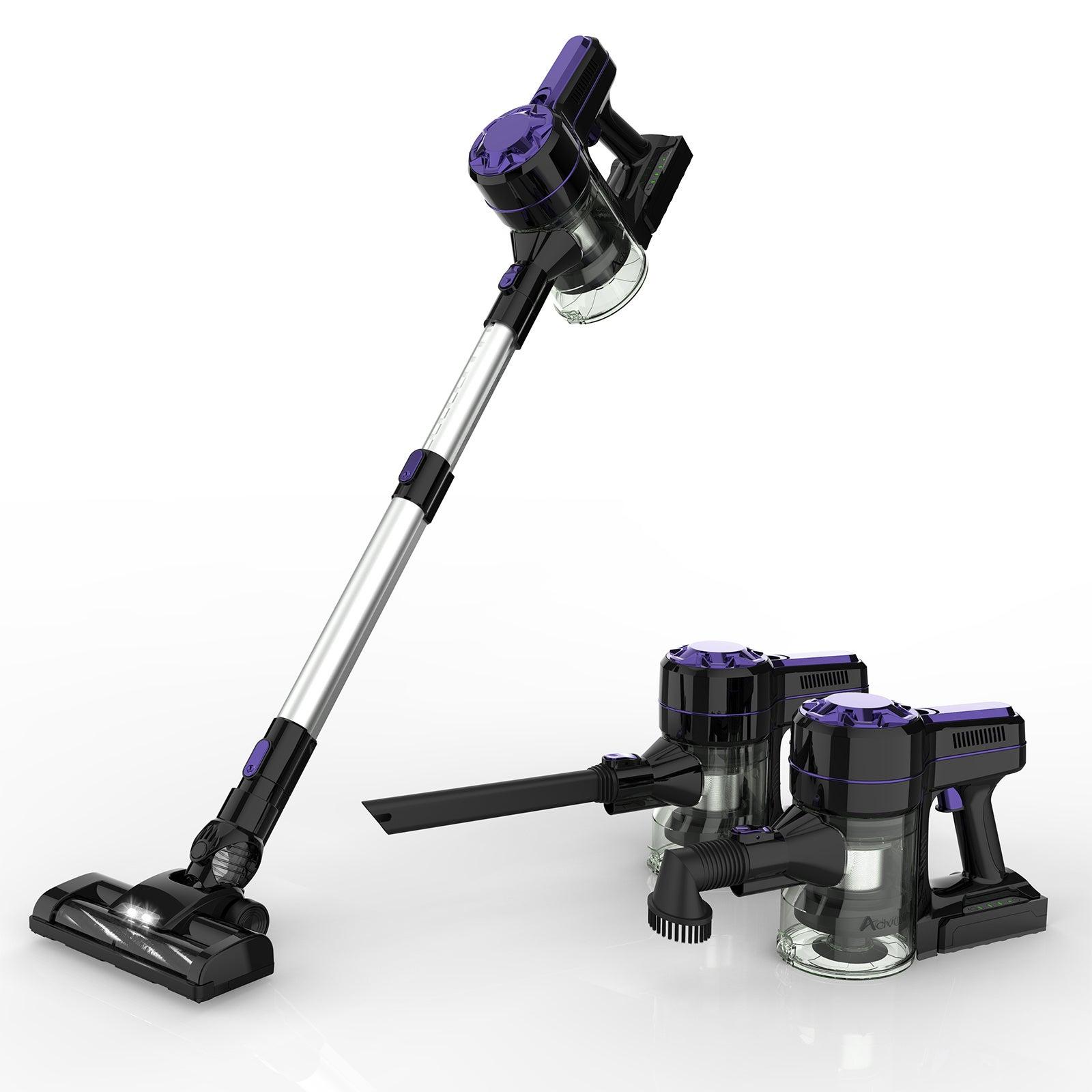 3in1 Handheld Cordless Vacuum Cleaner in Purple 12Kpa