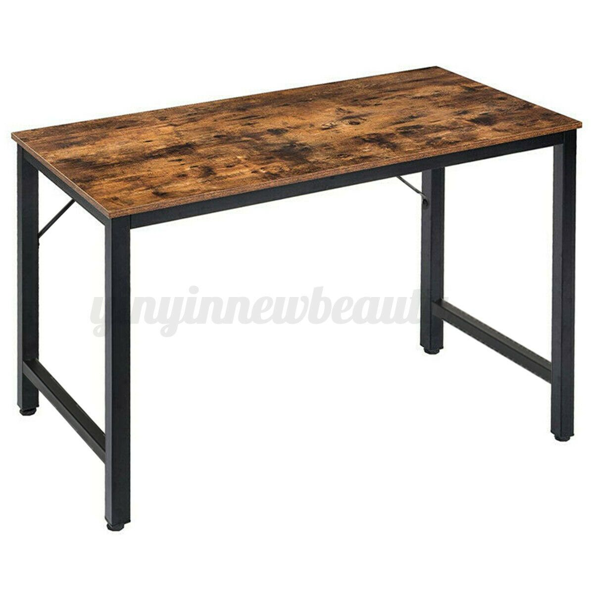 Adjustable Desk Table Storage Study Writing Gaming Computer Laptop Home Office