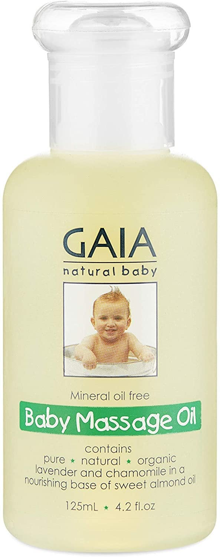 Baby Massage Oil, 125mL