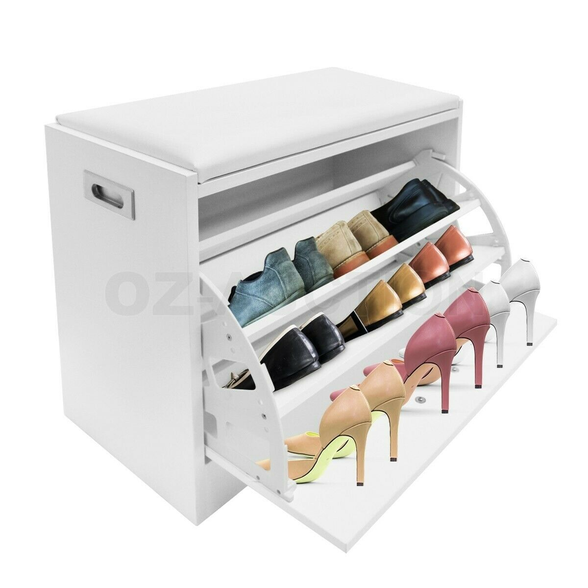 Shoe Cabinet Shoes Storage Rack Organiser Wooden