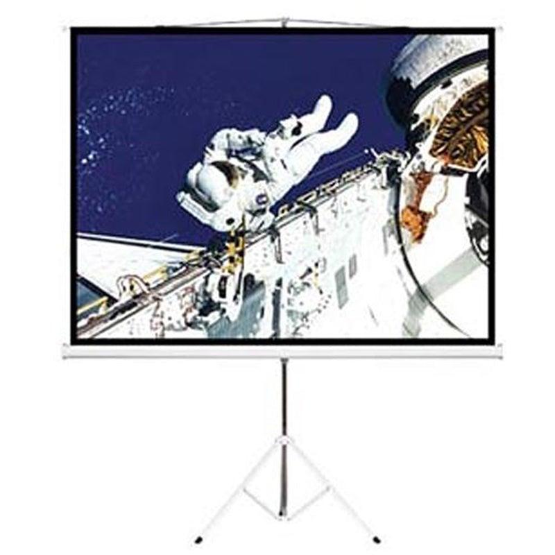 "Brateck 65"" (1.45m x 0.81m) Tripod Portable Projector Screen - Black"