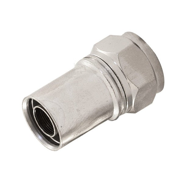 F Compression Rg59 Plug With O Ring Smooth