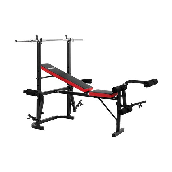 Home Gym Workout Bench Press With 67 Kg Weights