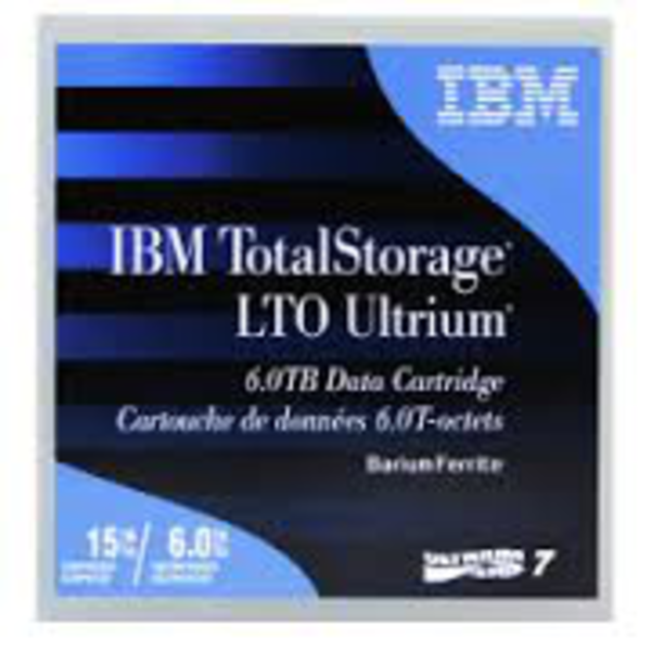 IBM LTO-7 Tape 6TB Up To 15TB Compressed