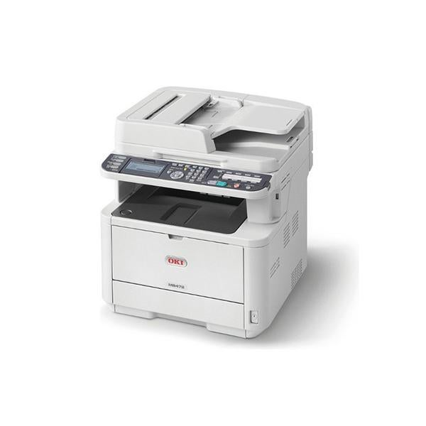 Oki Multifunction Print Scan Copy Fax With Duplex Network And Wireless
