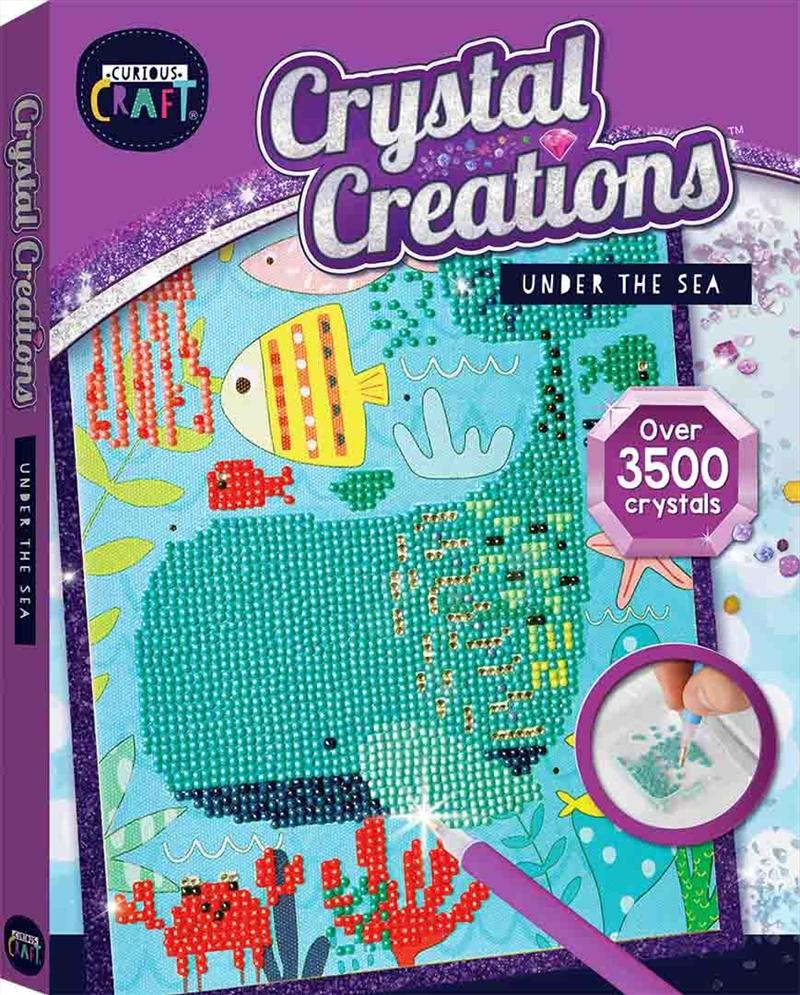 Curious Craft: Crystal Creations Canvas Under the Sea