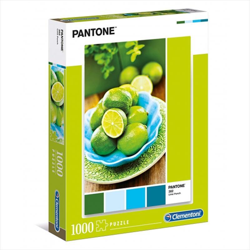 Pantone Lime 1000 Piece Puzzle