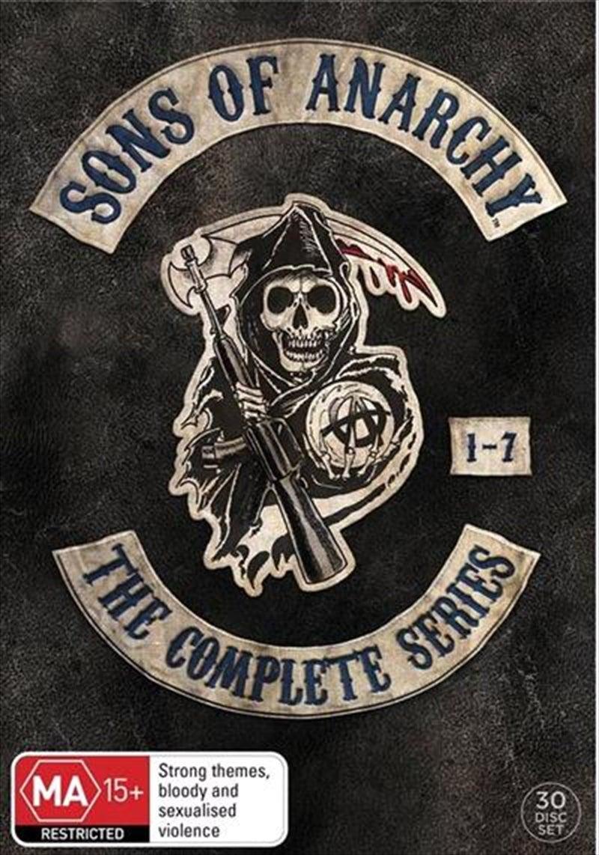 Sons Of Anarchy - Season 1-7 Boxset DVD