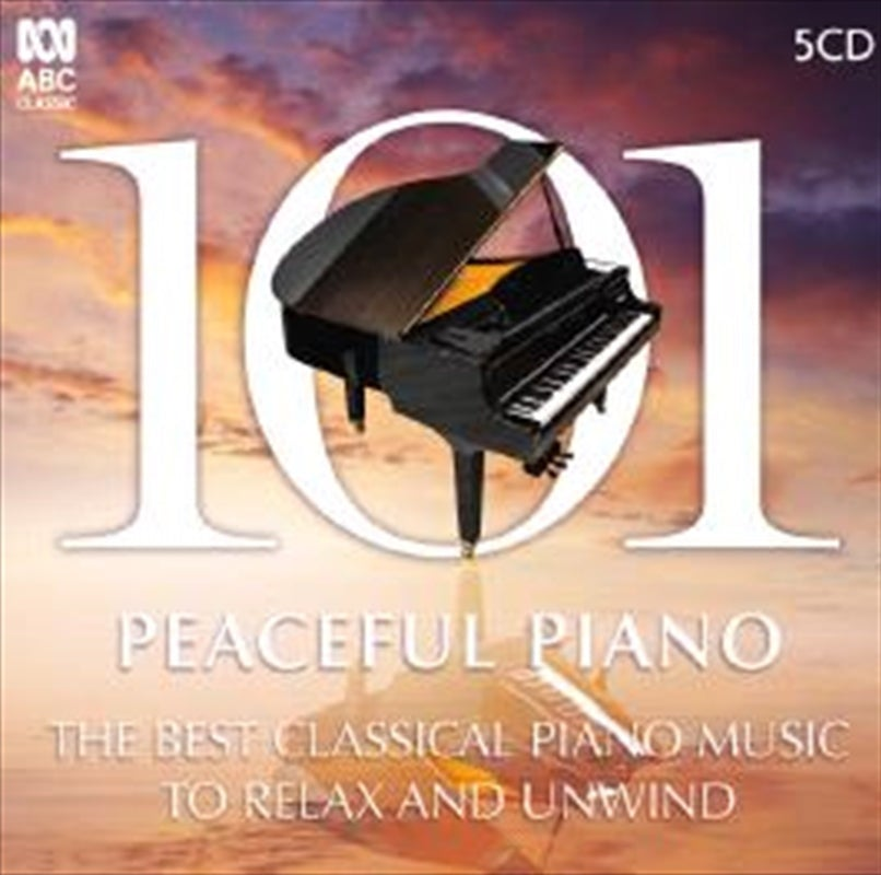 Various - 101 Peaceful Piano CD