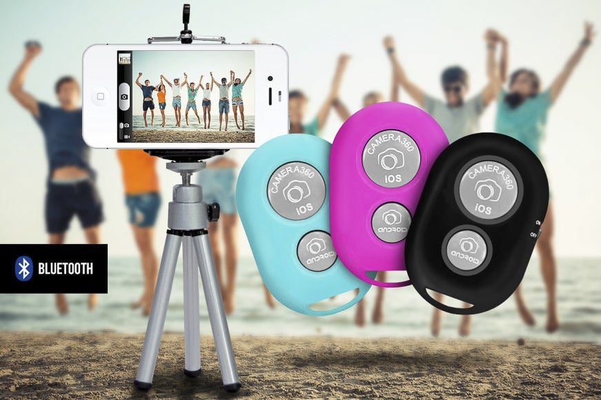 Selfie Snapper - Remote Phone Camera Trigger and Mini Tripod