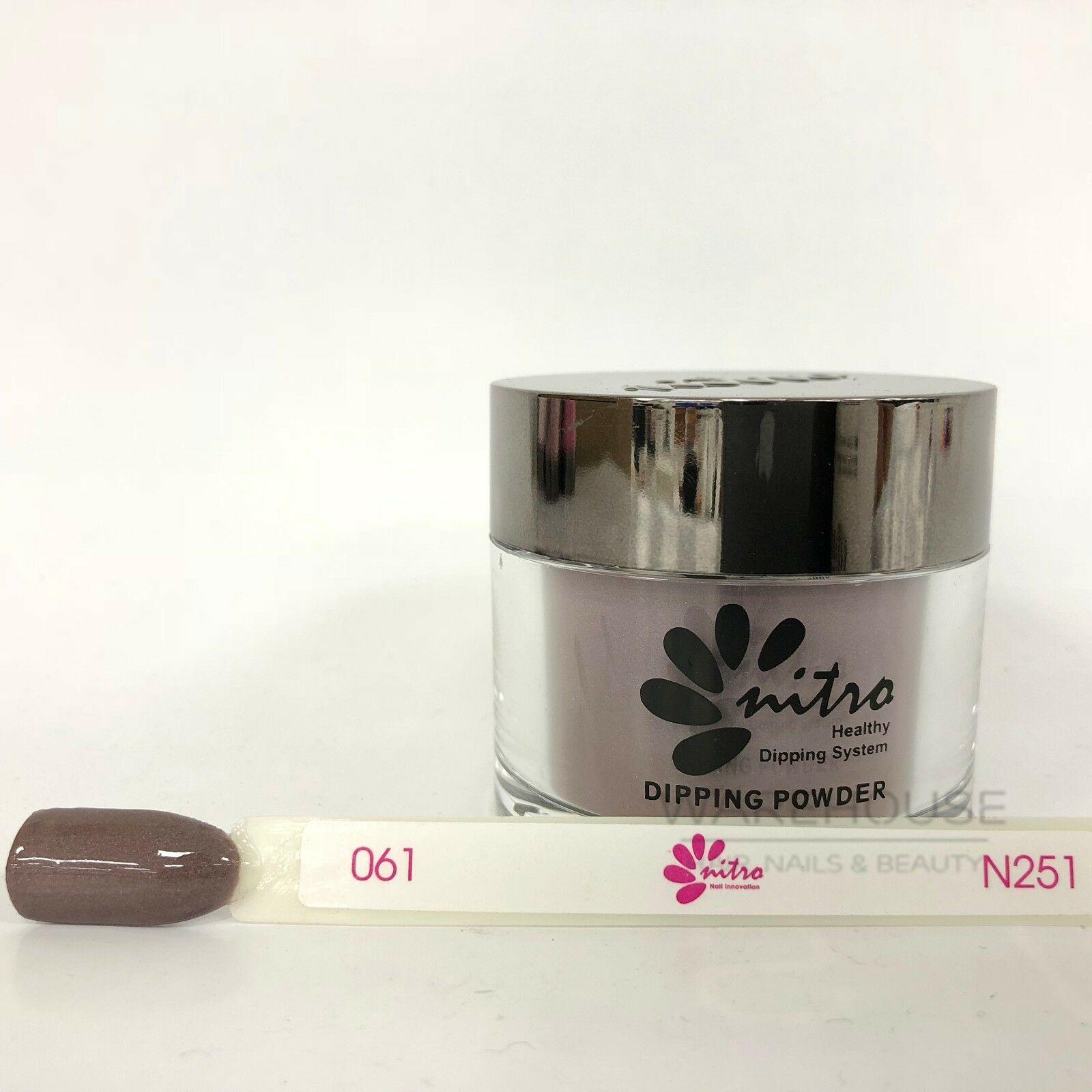 NITRO Matching SNS Gelish Dip Dipping Powder Nail System Color 59 g (61 - 120)