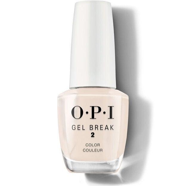 O.P.I Gel Break Treatment System - 2 - Too Tan-Tilizing Sheer Color